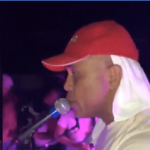 Haitian Carnival, Martelly was met with stones in Cayes